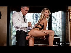 Deeper. Addie gets tied up & fucked by stranger...