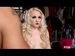 Lola Taylor is the human doll from Russia made ...