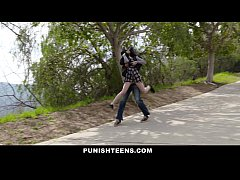 PunishTeens - Cute Goth Girl Kidnapped & Fucked...