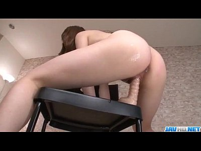 Rei Furuse amazing pussy play during solo adven...