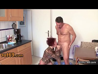 Stranger Seduce German Redhead MILF to Fuck for...