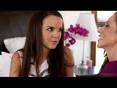I have lesbian experience before your Dad! – Dillion Harper, Ariella Ferrera