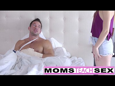 Step sister caught by step mom with hard cock i...