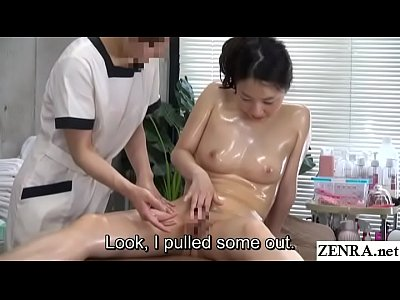 JAV CFNF Lesbian Massage Clinic Masturbation He...