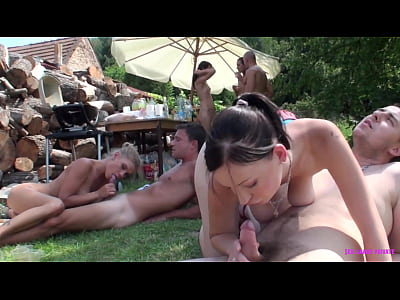 Summer fucking in the open air (horny wet pussi...
