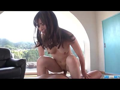 Saya Niiyama intense home porn with a horny dude