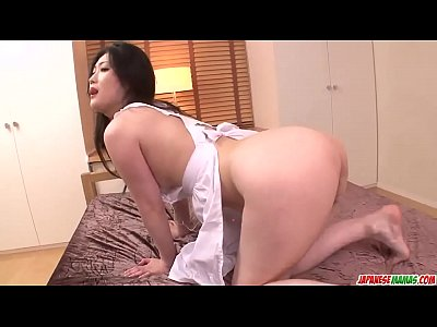 Naomi Sugawara enjoys cock in the ass and pussy...