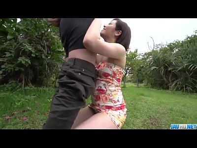 Dashing Asian woman, Minami Asano, full porn in...