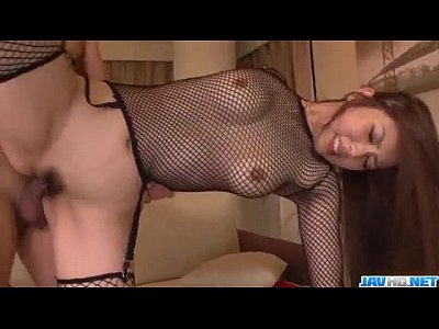 Strong threesome sex scenes with lovely Yui Hatano
