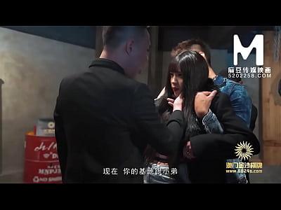 【国产】麻豆传媒作品/MDX-0027逆袭黑色会大姐大 0...