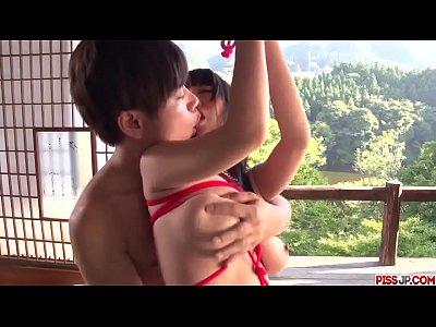 Hot bondage XXX action along superb Rina Mayuzu...