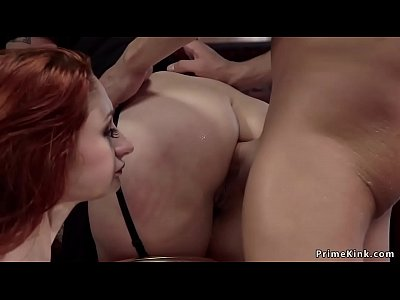 Ass to mouth threesome in Upper Floor