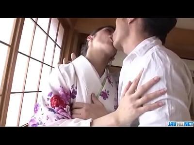 Rei Mizuna feels amazing while having rough sex