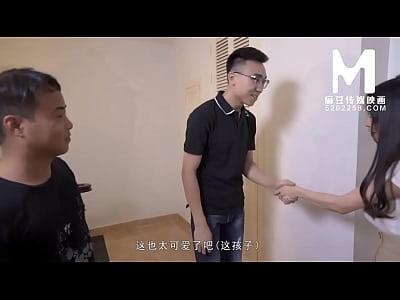 【国产】麻豆传媒作品/MD-0132稚嫩人妻的挑逗 001/...