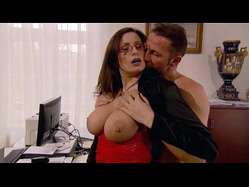 Gagging model ejaculation spank