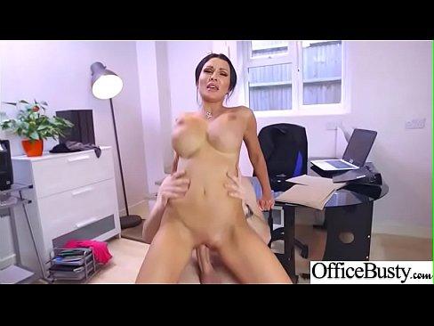 (Patty Michova) Office Sluty Busty Girl Love Intercorse clip-25