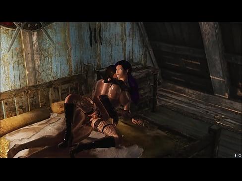 Лидия skyrim порно