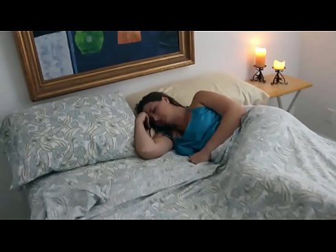 Step son gets into mom's room while she's a.