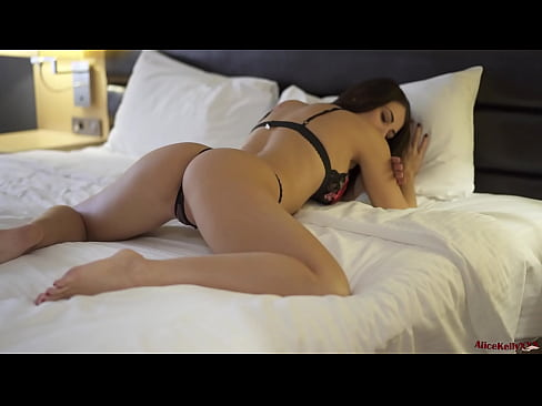Sexy Babe in Lingerie Passionate Masturbate Pussy - Female Orgasm