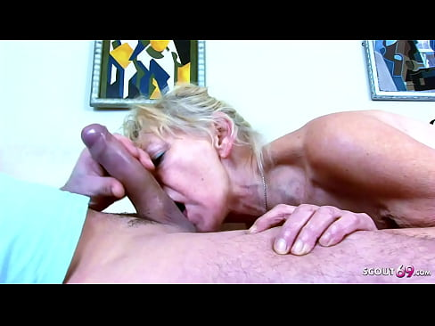 SLIM 77yr OLD GRANNY ANNA ROUGH FUCK BY BIG DICK GRAND SON