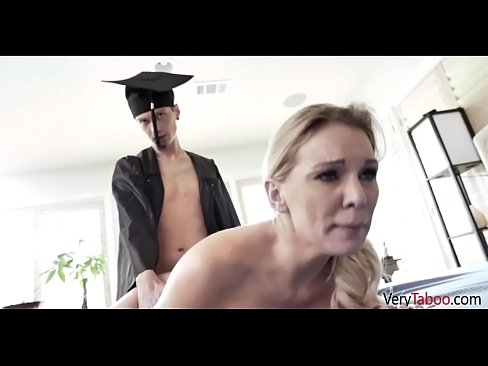 MOM gives SON a graduation present- Kenzia Taylor