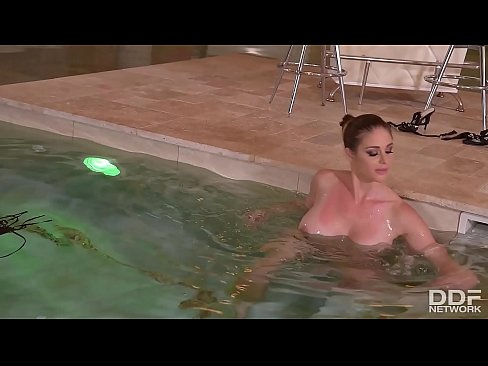 Anal sex with Busty & Voluptuous Spa Goddess Cathy Heaven