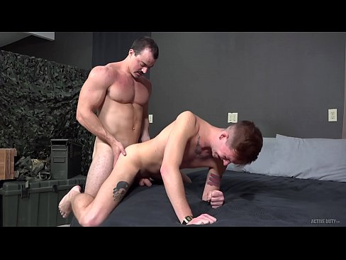 ActiveDuty - Alex James' Big Dick Sucked Before Buried In Twunk Ass