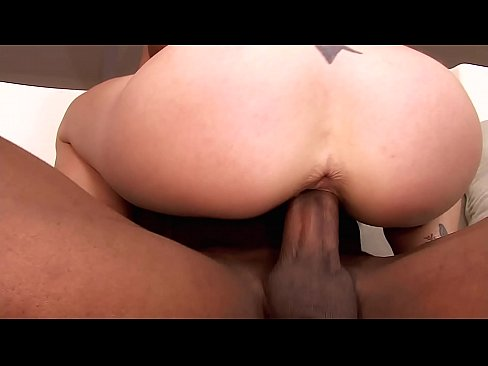Pretty Babe Sucking & Riding Big Black Cock like there's no tomorrow. Of course she Swallows!