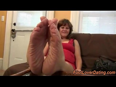Amazing mature feet