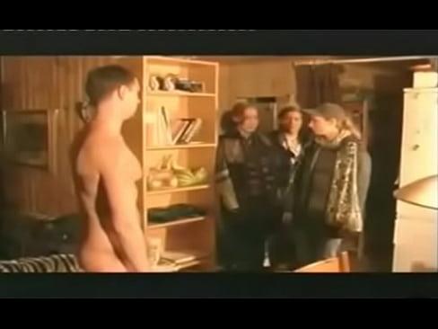 three french girls watch the guy´s pee pee