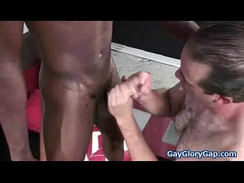 Handsome gay afro getting handjob 26's Thumb