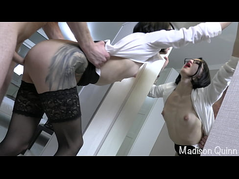 He passes the exam to his sexy teacher
