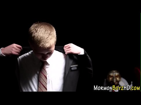 Mormon elder pegging ass