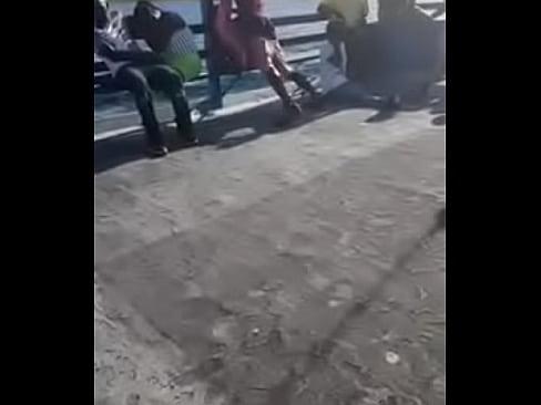 Public boat fuck- The Bahamas