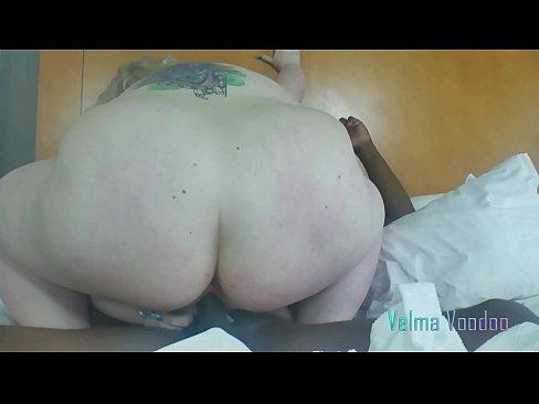 fat slut velma voodoo rough fucked by huge black cock