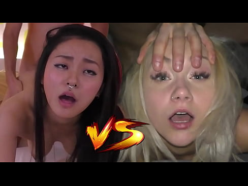 Japanese Fucktoy VS Czech Cum Dumpster - Who would you like to creampie? - Featuring: Rae Lil Black & Marilyn Sugar