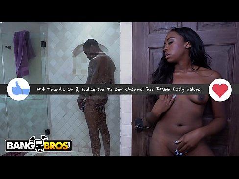 BANGBROS - Kokohontas Takes Big Black Cock From Her Step Dad Isiah Maxwell