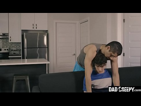 Stepson Rides His Father's Dick Till He Cums - Marco Biancci, Ryan Valarta