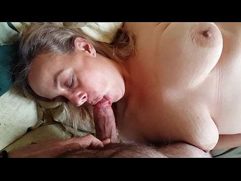 Cheating housewife BBW MILF Kaitee Banggs has sex with younger man while husband is at work