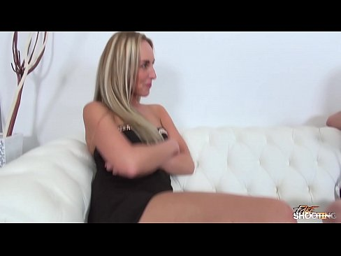 Cum showered babe enjoy fake agent's cock every second when fuck