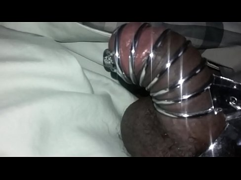 My First Cock cage