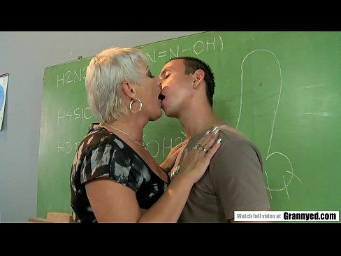 Student Fucks Mature Teacher