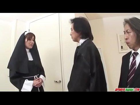 First hardcore experience for Japan nun, Hitomi Kanou