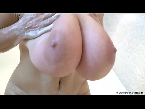 Sexy Huge Tits Woman Taking A Shower At Sexfree Online Xvideos Com