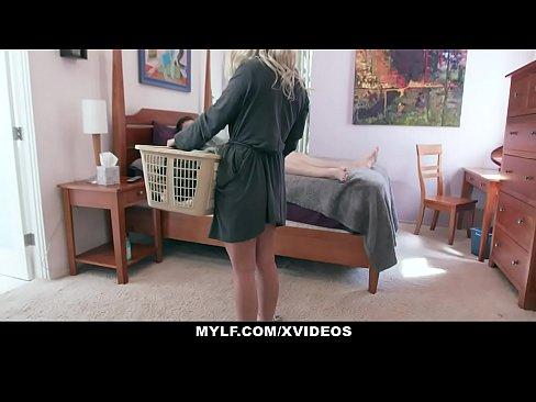 MYLF - Busty Milf Lets Her Big Dick Stepson Fuck Her Raw