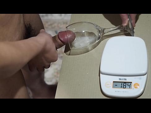 Blasen und sperma schlucken