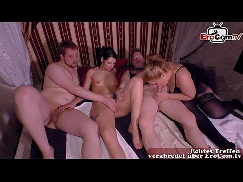 Deutsche private Swinger Club Party mit paaren