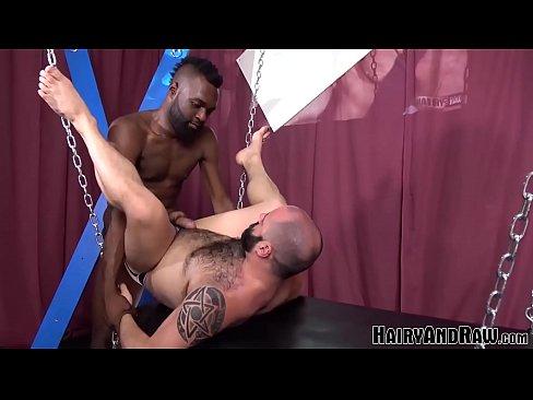 HAIRYANDRAW Black Stud Donte Oxun Flip Fucks Fetish Daddy