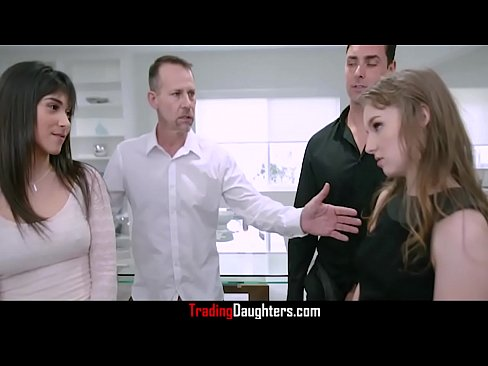 Awkward Dad & Daughter Gangbang-Brooklyn Gray & Clementine