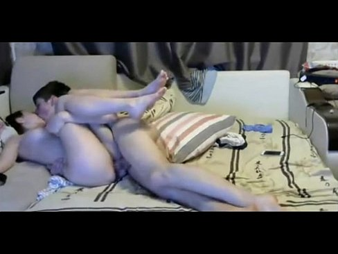 Teen boy with long dick fucks skinny gf